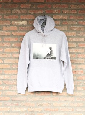 BUDDHA unisex hoodie sleeve