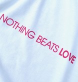 Shirt YIN & LOVE - Nothing beats love (high density printing)