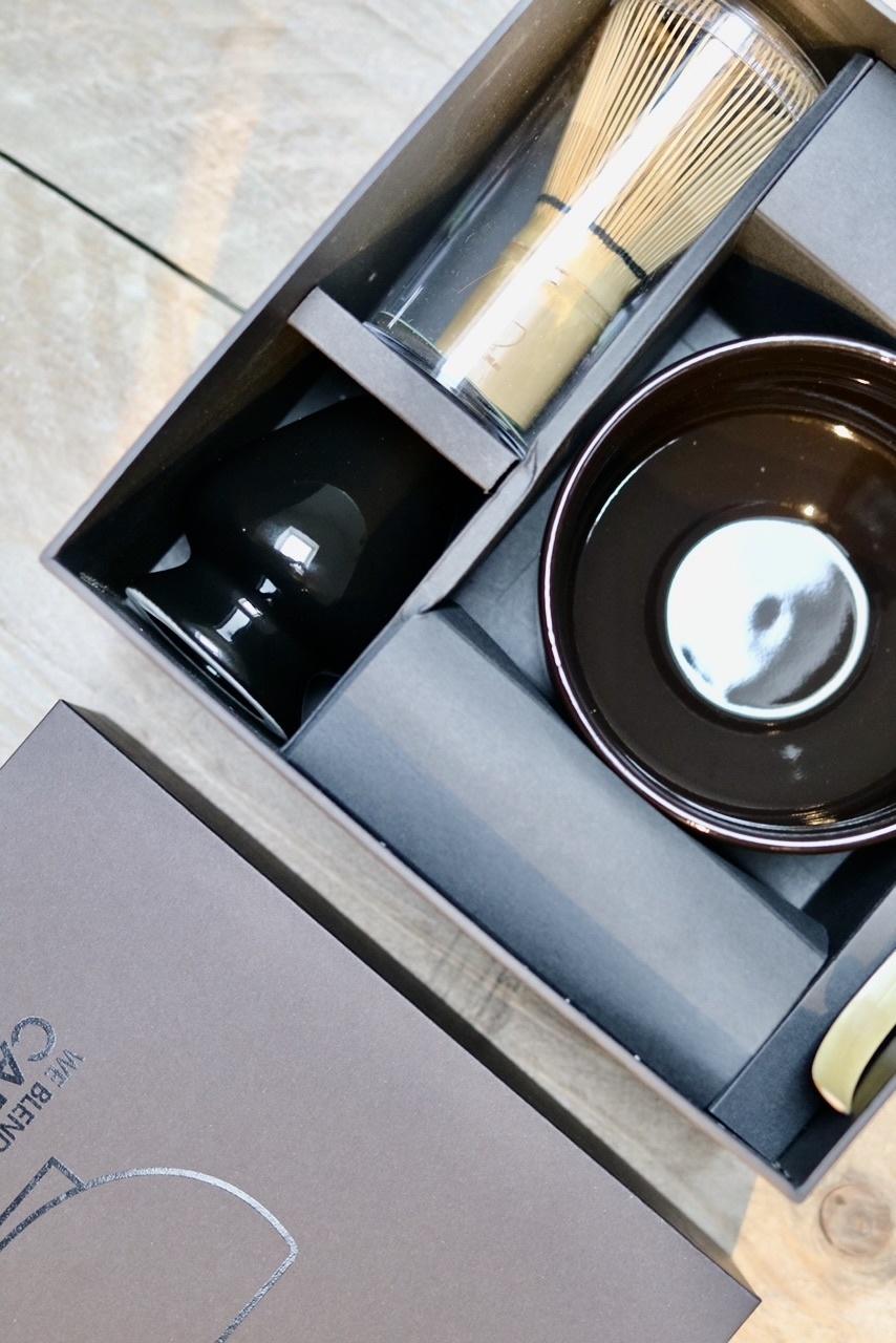 Premium Matcha complete box I (five-part) - clean