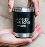 Stainless steel take away tea/coffee cup
