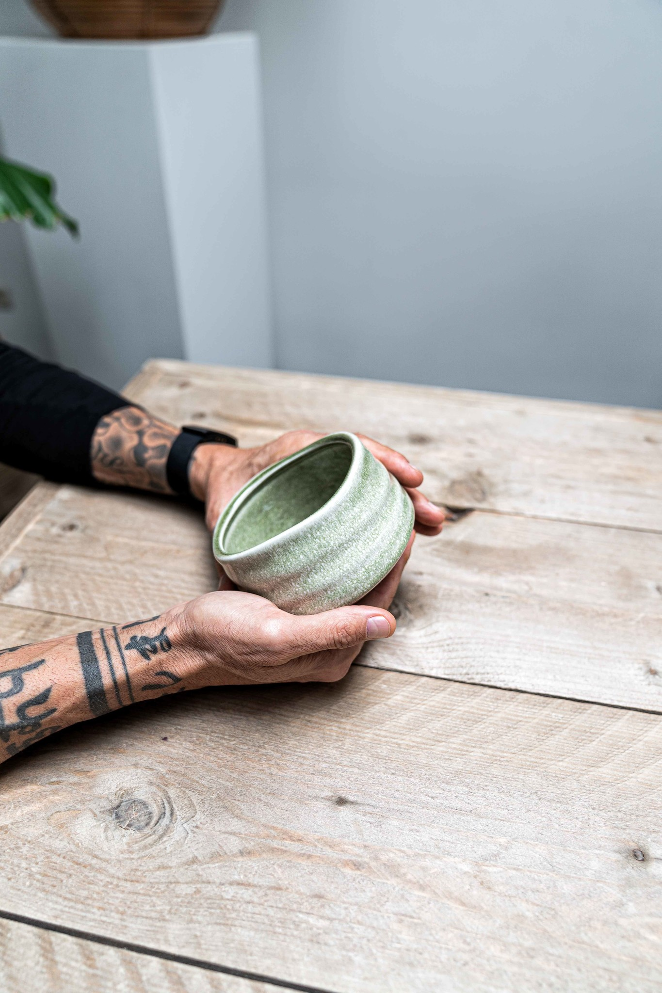 Matcha bowl zen - lichtgroen