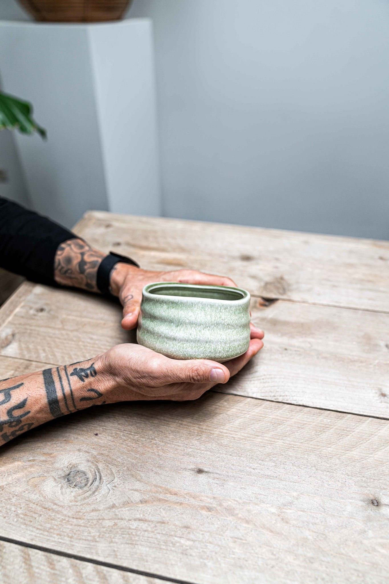 Matcha bowl zen - light green