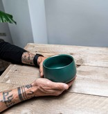 Matcha bowl - design green