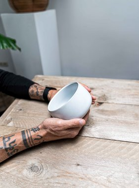 Matcha bowl - design white