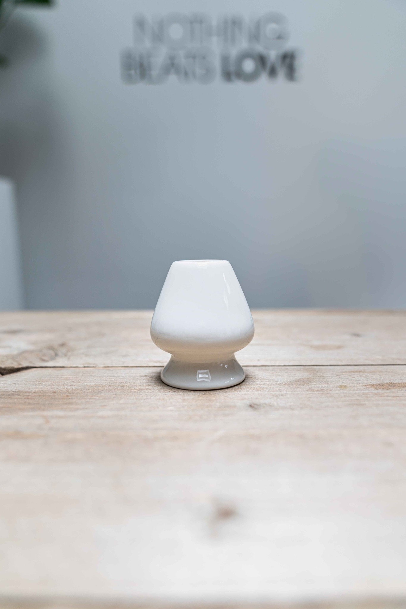 Matcha whisk holder - white