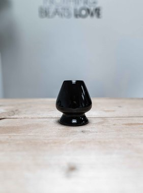 Matcha whisk holder - black