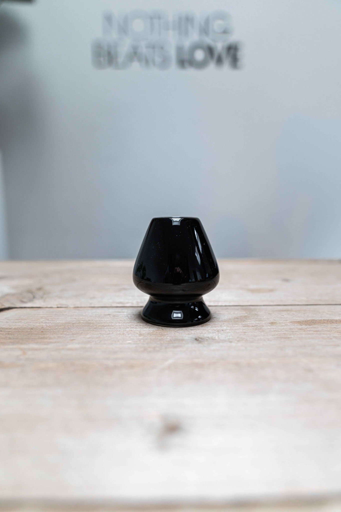 Matcha whisk houder - zwart