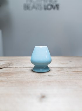 Matcha whisk holder - blue