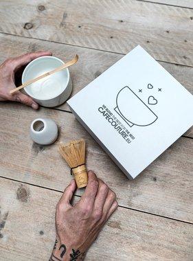 Premium Matcha complete box I (five-part) - clean white