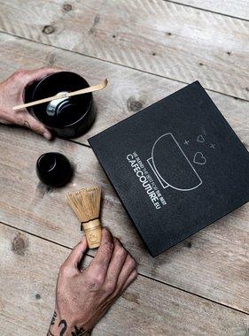 Premium Matcha complete box I (five-part) - clean black