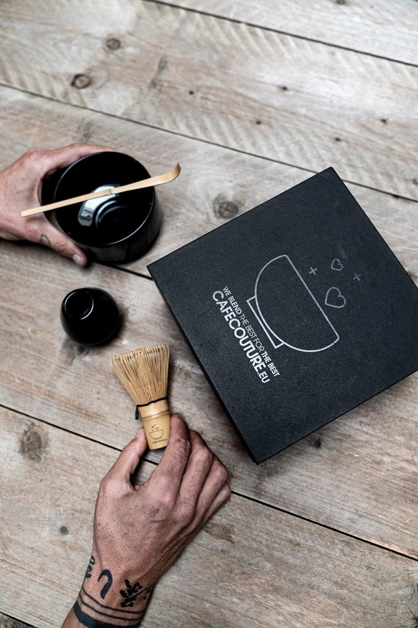 Premium Matcha complete box I (four-part) - clean black