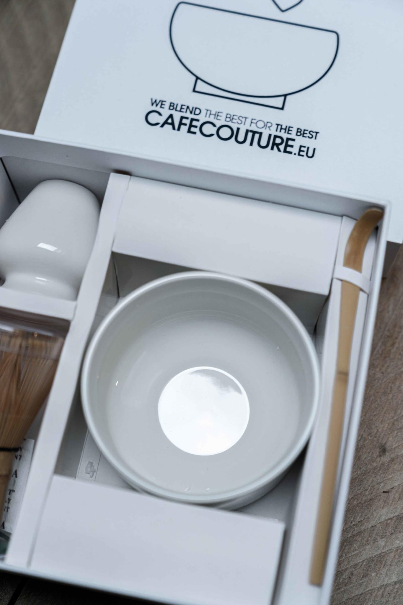 Premium Matcha complete box I (5 delig) - clean wit