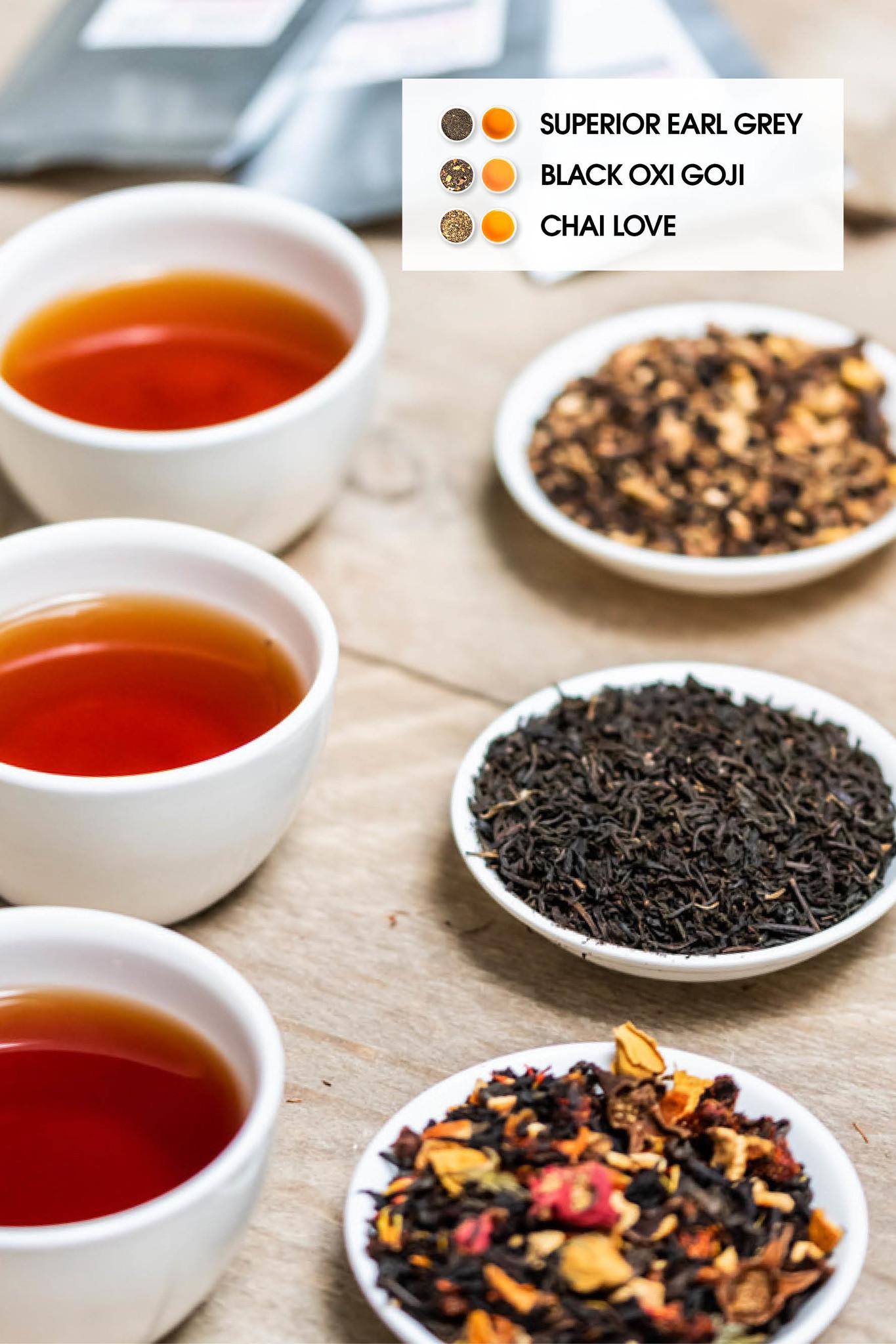 3 BLACK TEA TRY OUT SET