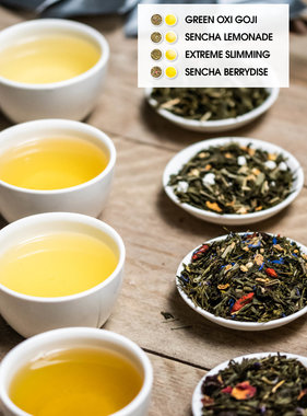 4 GREEN TEA TRY OUT SET