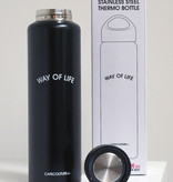 WAY OF LIFE rvs thermo bottle (1 liter)