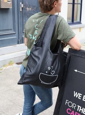Cafe Couture recycable logo bag