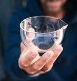 Matcha latte spout bowl (glass)
