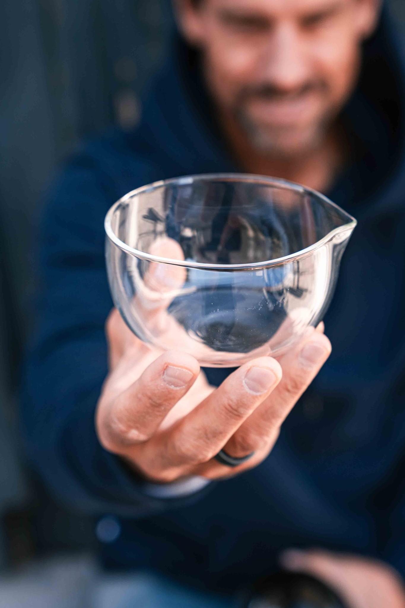 Matcha latte schenk bowl (glas)