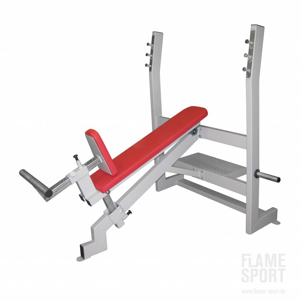 Incline Bench Press (2AX), adjustable 20 to 40 degree