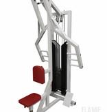 Latrudermaschine, sitzend (4M) mit Steckgewichten