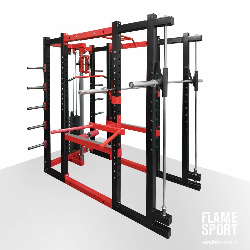 Multifunctional Power Rack (9B)