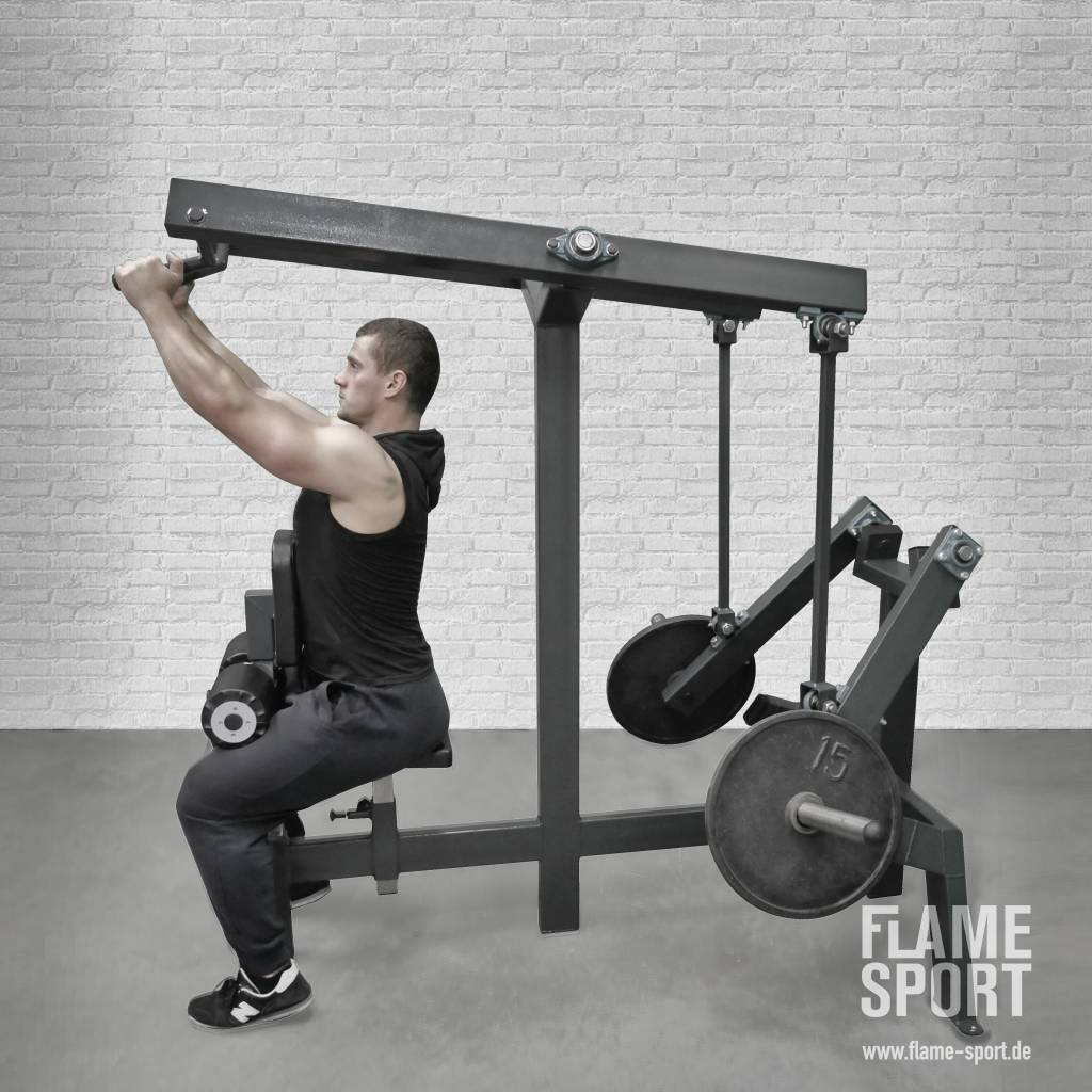 High Row/ Lat Pull-Down (8Lp)