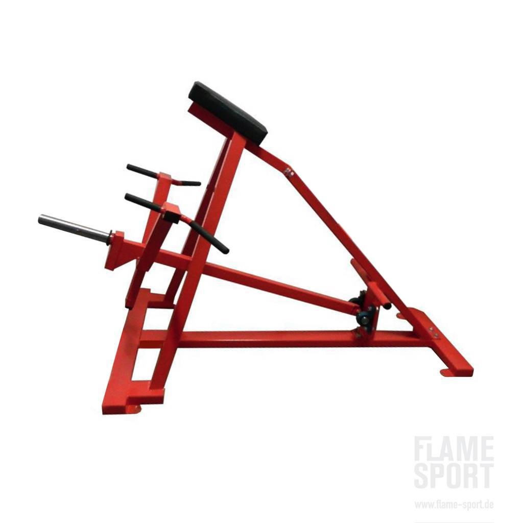 T-bar Row (1L) with chest Support / Plate loaded