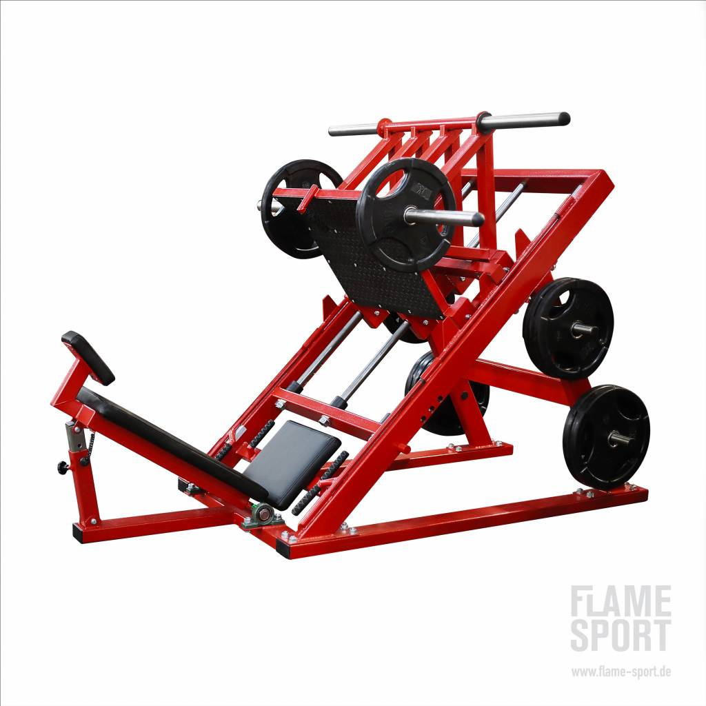 Leg Press Machine 45 angle (3D)