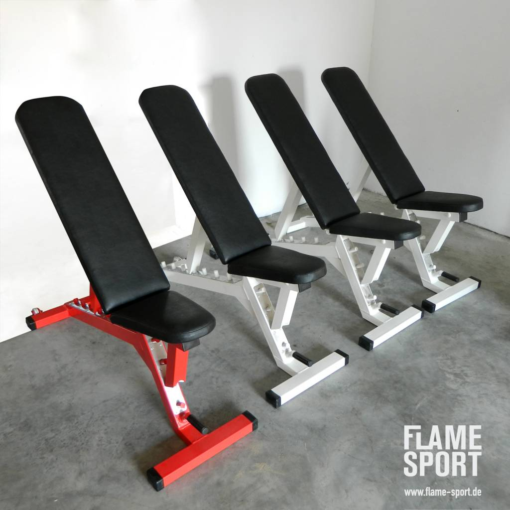 Adjustable Flat/ Incline Bench (2J) – PREFABRICATED