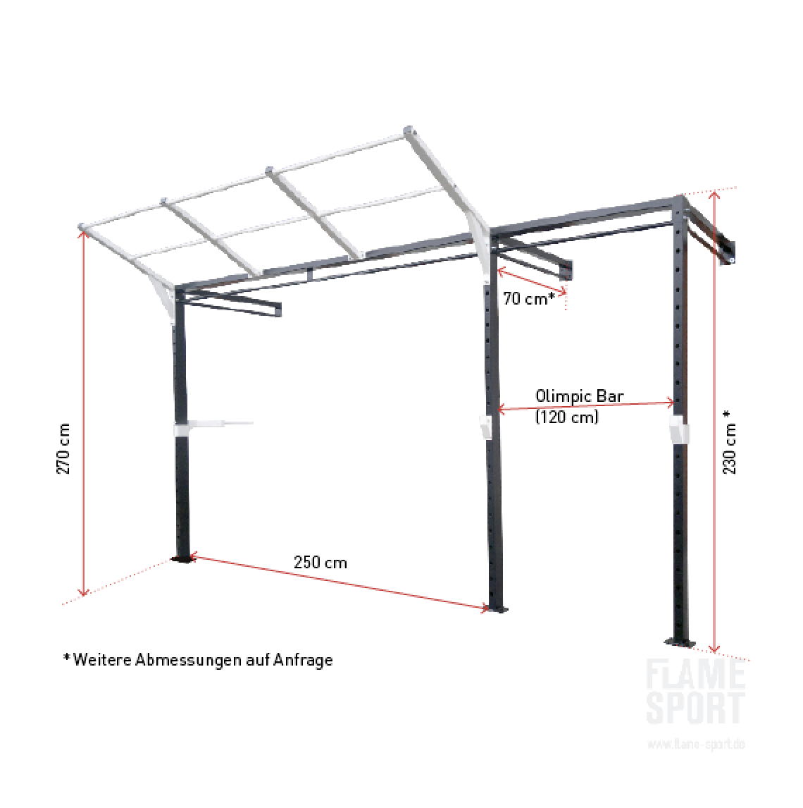 Power Station / Wand Crossfit Rack (2T)