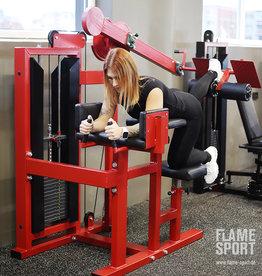 Gluteusmaschine / The Kneeling Leg Curl Machine (2V)