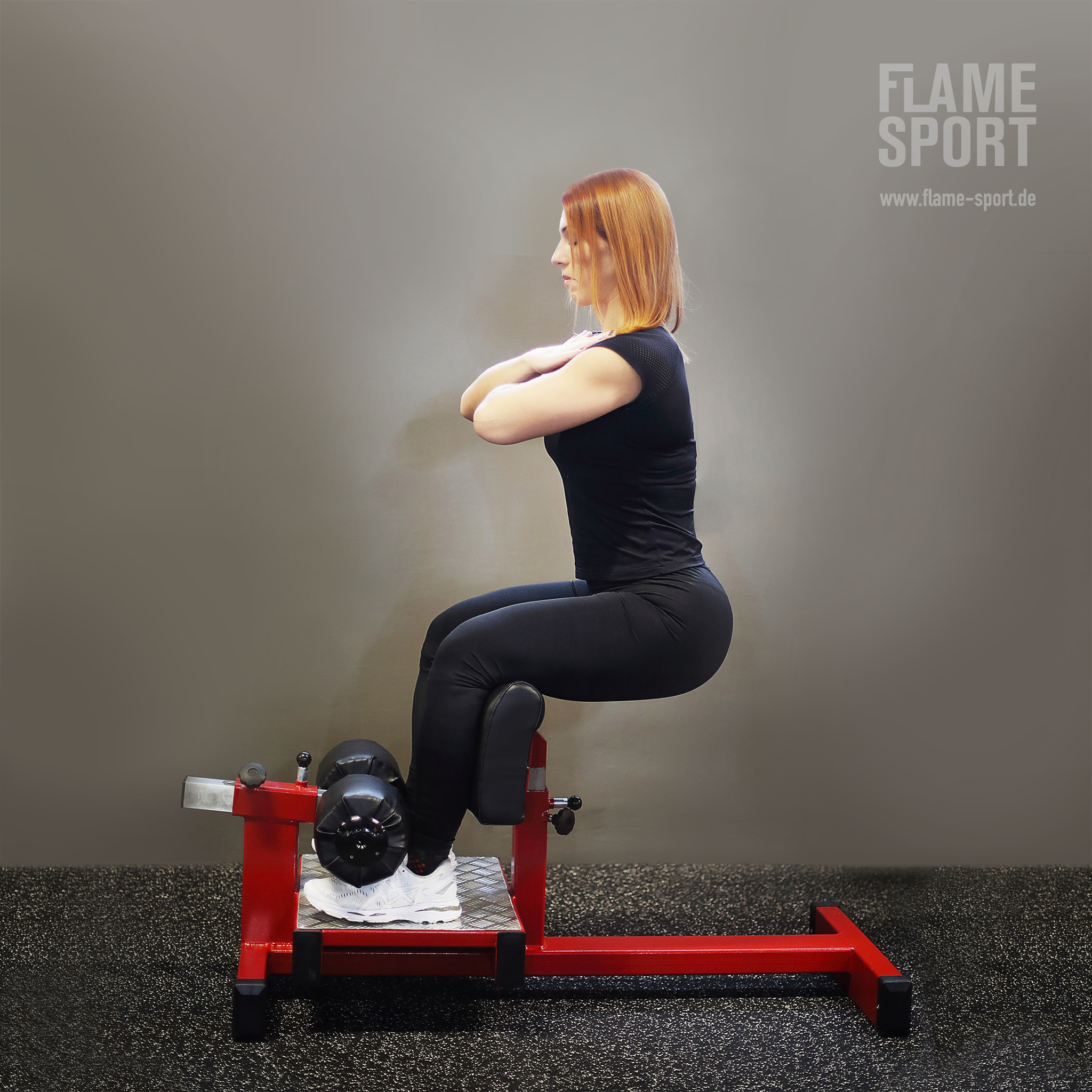 Kniebeugentrainer (1S) / Sissy Squat Bench