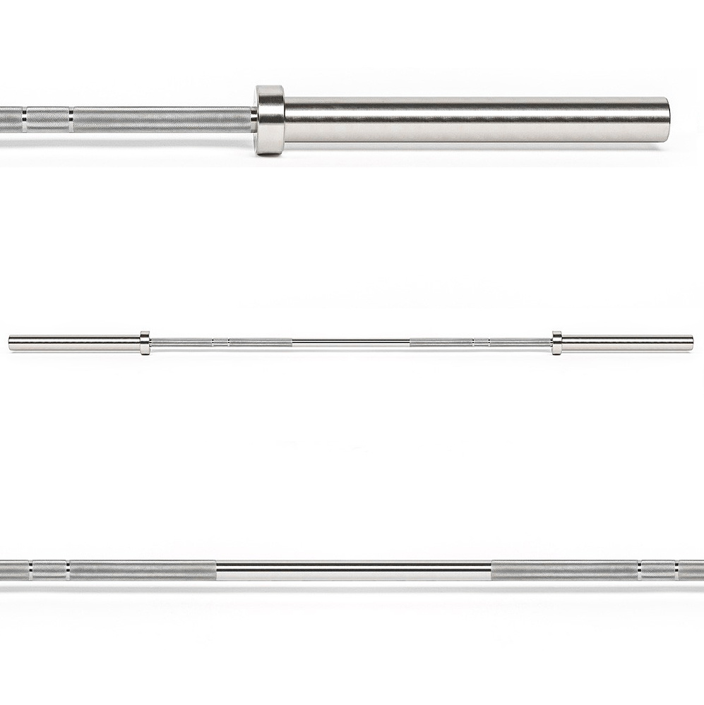 Hantelstange aus Edelstahl / Power Bar Stainless Steel