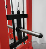 Power Station (9BX) with The Half Rack and Plate Loaded Lat Pulldown