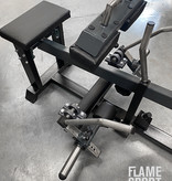 Seated Calf Raise Machine (1oX) Plate loaded
