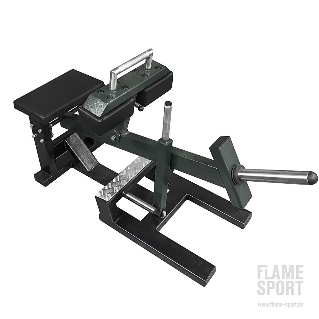 Seated Calf Raise Machine (1o) / Plate loaded