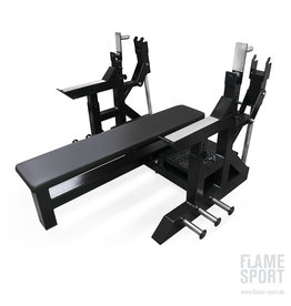 Olympic horizontal Press Bench (1AA)