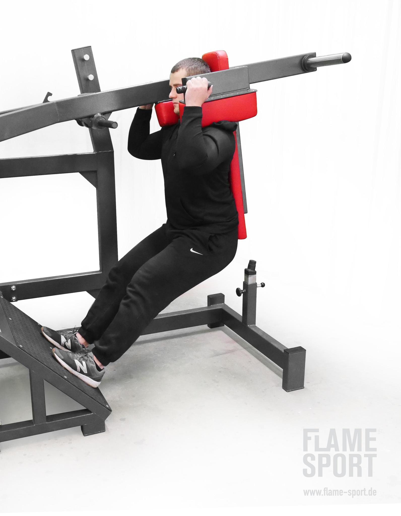 Pendulum squat (3R)