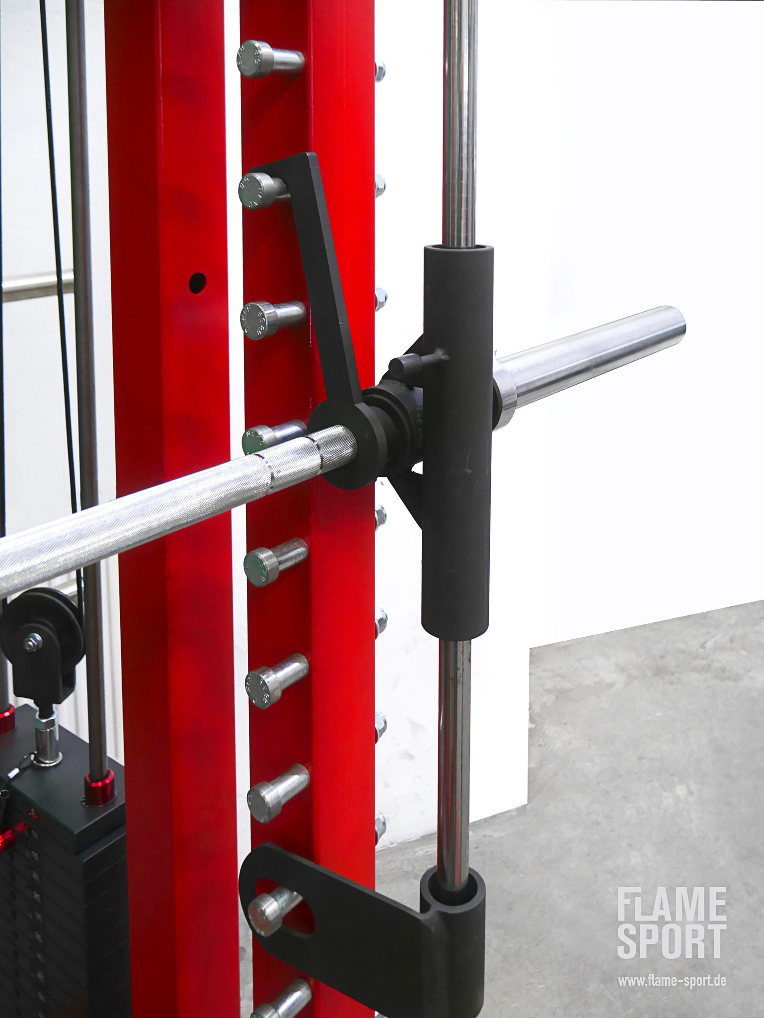 Ultimate Power Rack (11B): 3 in 1: Cable Crossover + Smith Machine + Half Rack