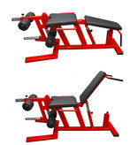 Leg Extension & Curl Machine / Plate loaded (8MXX ) - Ready to dispatch