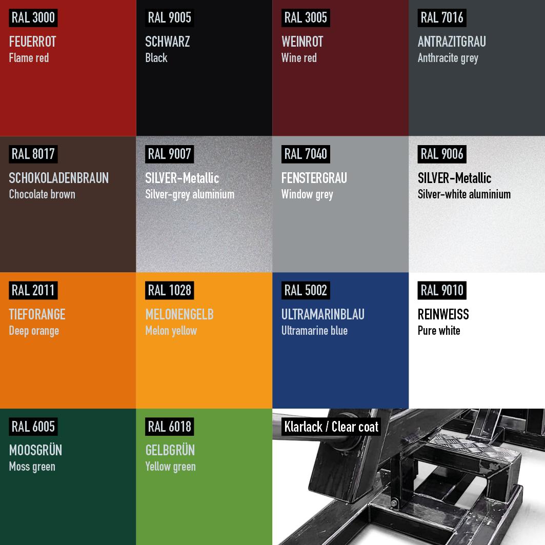 Monolift attachment/ Schwenkbare Hantelablage (15ZM)