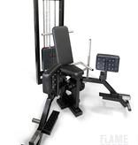 Abduktoren- und Adduktorenmaschine (3V) mit Gewichtsblock