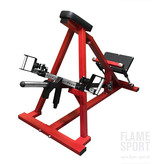 T-Bar Row Machine (1LXX ) with adjustable handles and foot platform