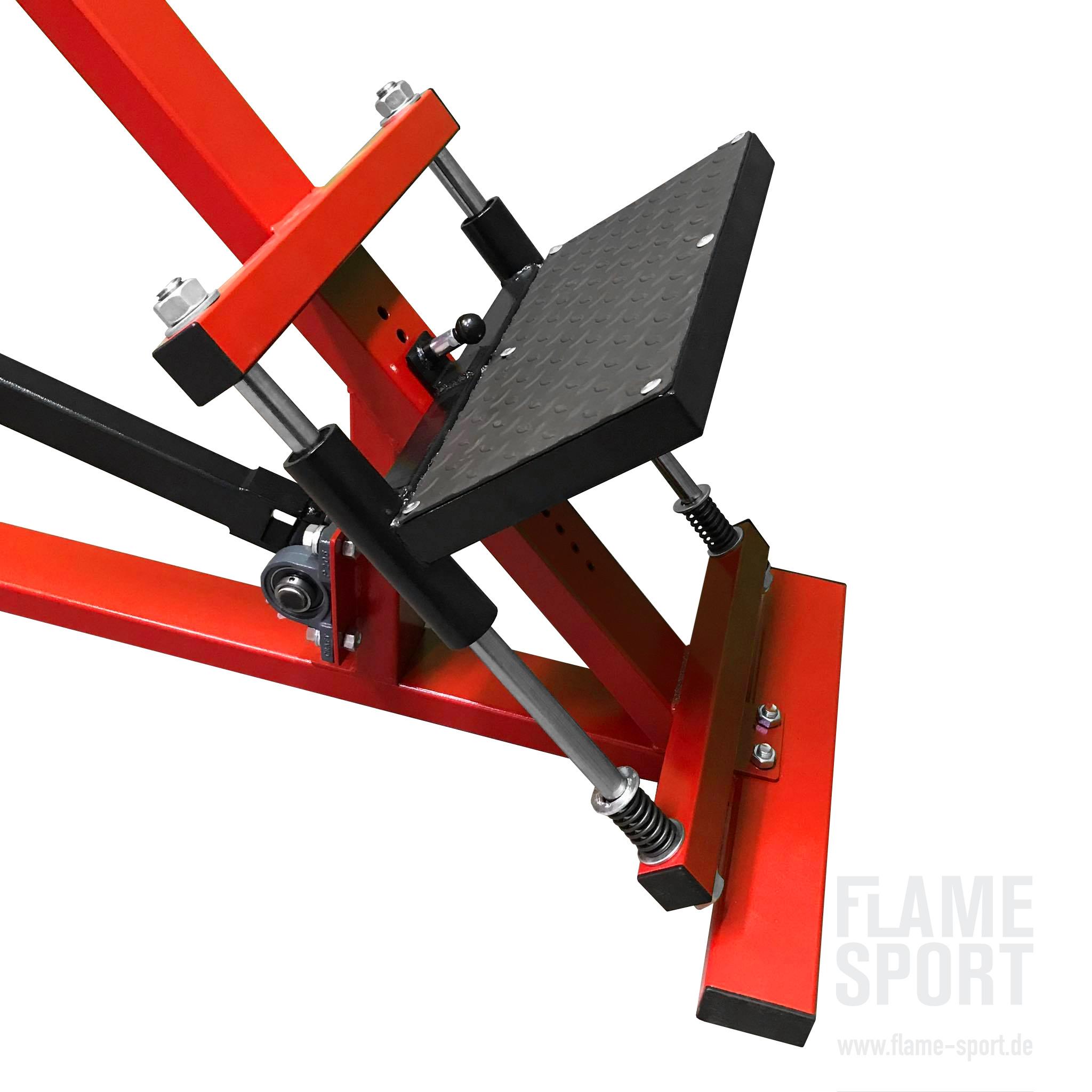 T-Bar Row Machine (1LXX) mit verstellbaren Griffen und verstellbarer Plattform