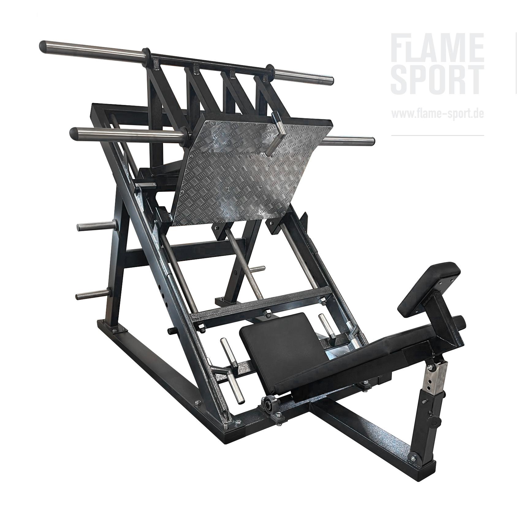 Leg Press Machine 45 angle (3D)