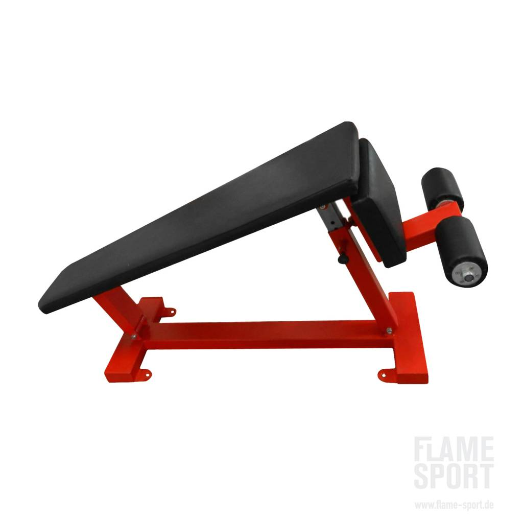 Adjustable Sit-Up Bench (1E), declined
