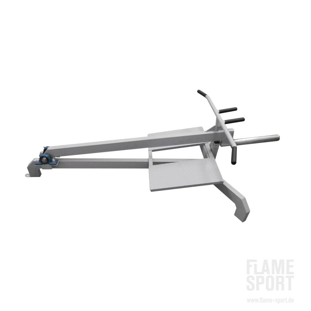 T-bar Row (2L), Plate loaded