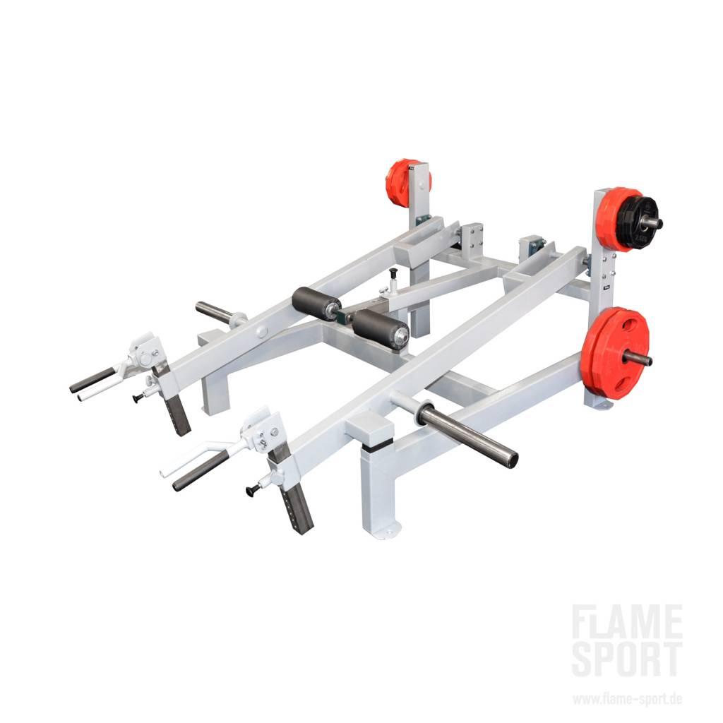 Trapezius Muscles Machine / Shrug Machine (1G) / Plate Loaded