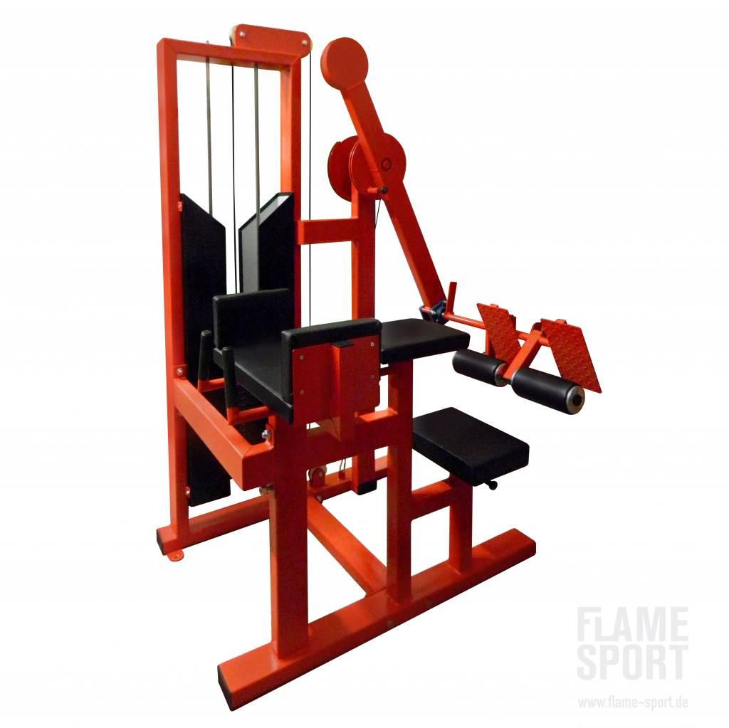 Gluteusmaschine (2V), mit Steckgewichten