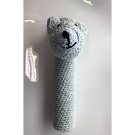 KW FLEX Shuttlecock Mascotte Bear light blue